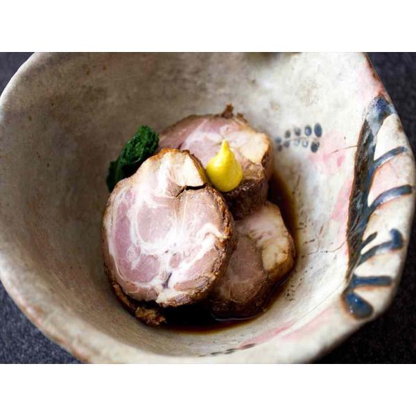 けんとん豚肩ロース肉 とろ焼豚 3個入(合計約500g)+特製タレ|takagiseiniku|03