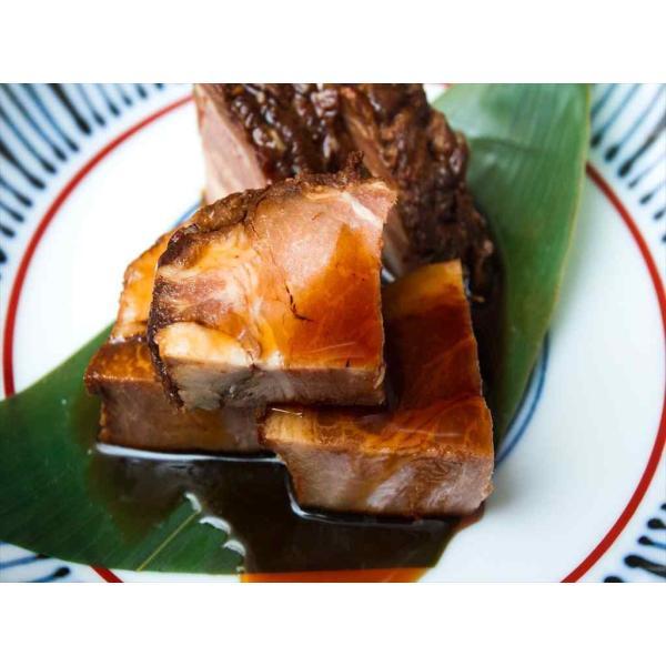 けんとん豚肩ロース肉 とろ焼豚 3個入(合計約500g)+特製タレ|takagiseiniku|05