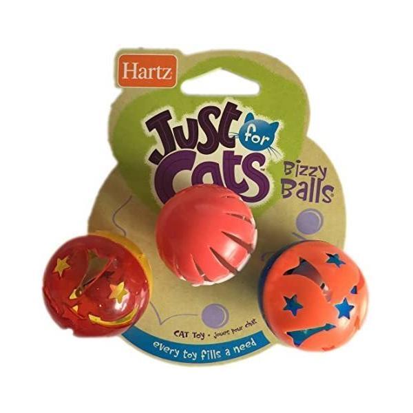 鈴の入ったボール 猫用おもちゃ Bizzy Balls ビジーボール 3 個|takahaji-shop|03