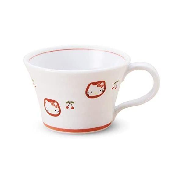 有田焼 HELLO KITTY ハローキティ チェリー マグカップ|takahashi-shopping|02