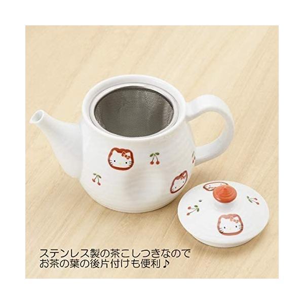 有田焼 HELLO KITTY ハローキティ チェリー ポット takahashi-shopping 03