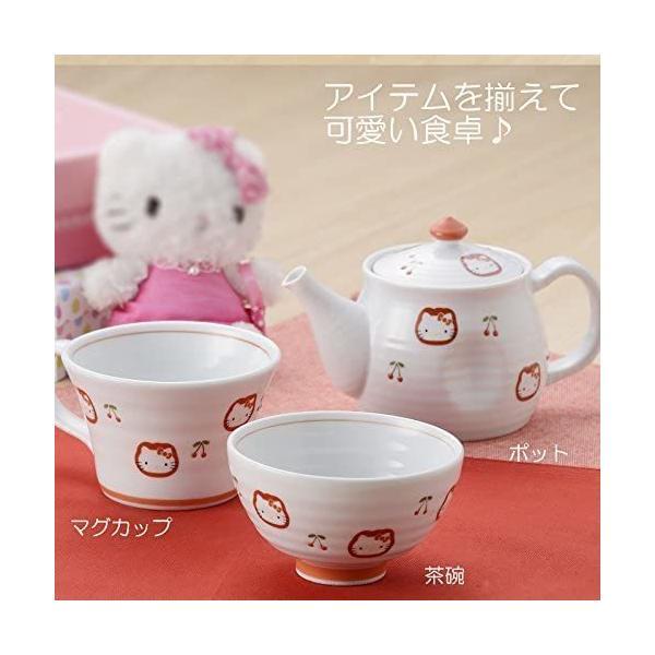 有田焼 HELLO KITTY ハローキティ チェリー ポット takahashi-shopping 06