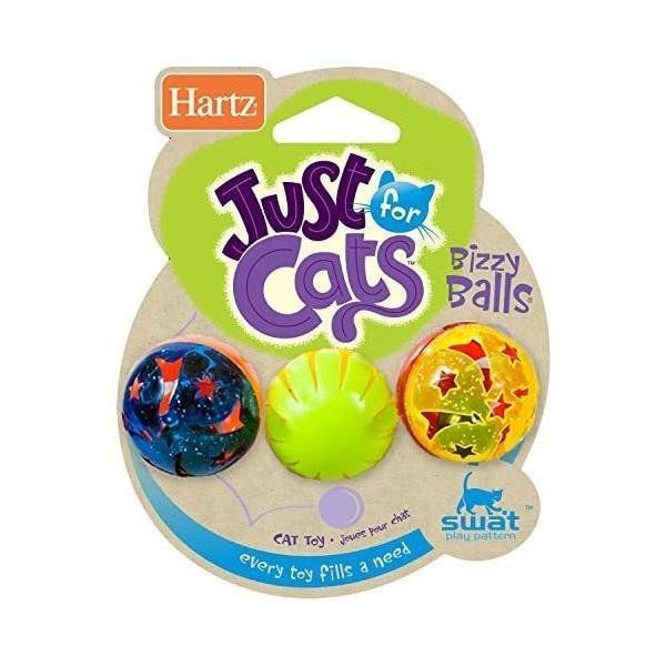 鈴の入ったボール 猫用おもちゃ Bizzy Balls ビジーボール 3 個|takahashi-shopping|02