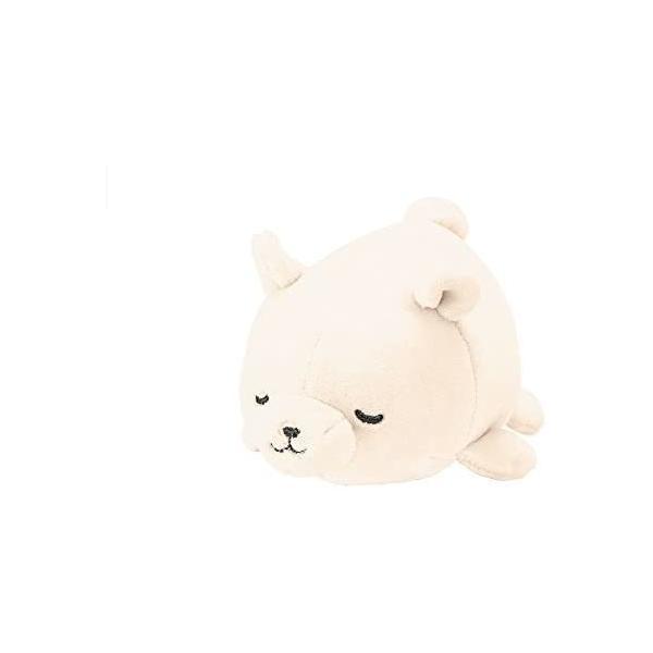 シロクマホワイト りぶはあと マスコット マシュマロアニマル し|takahashi-shopping|02