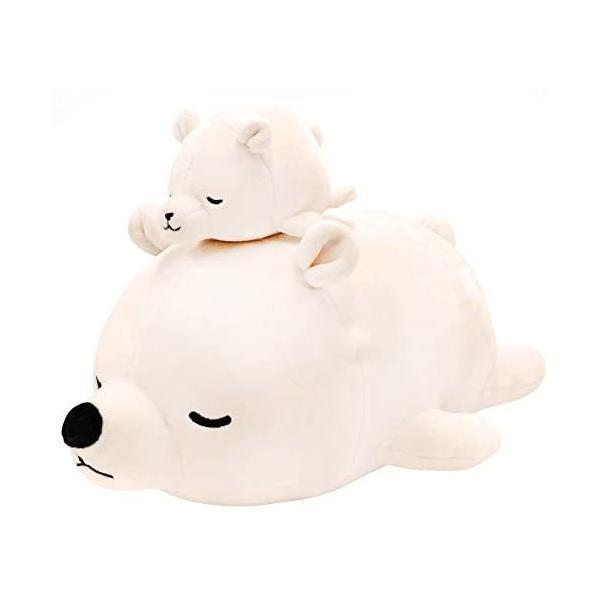 シロクマホワイト りぶはあと マスコット マシュマロアニマル し|takahashi-shopping|03