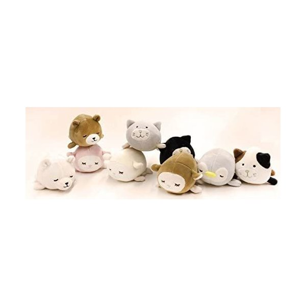 シロクマホワイト りぶはあと マスコット マシュマロアニマル し|takahashi-shopping|04