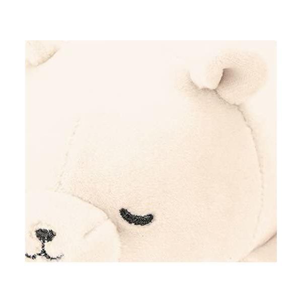 シロクマホワイト りぶはあと マスコット マシュマロアニマル し|takahashi-shopping|06
