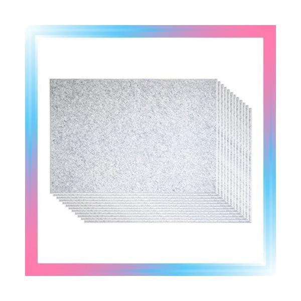 ピンで取り付け可能な 壁面「吸音」フェルトパネル 45度カット 8|takahashi-shopping