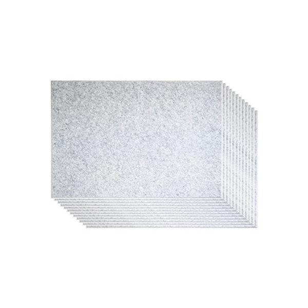 ピンで取り付け可能な 壁面「吸音」フェルトパネル 45度カット 8|takahashi-shopping|02