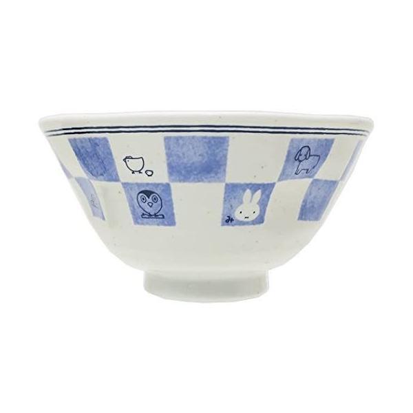金正陶器 飯碗 白 12cm ミッフィー 和食器 茶碗 市松 201160|takahashi-shopping|02