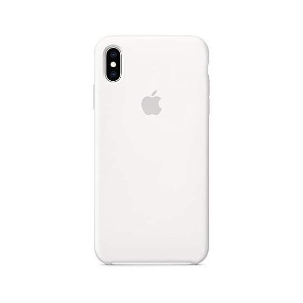 ホワイト iPhone XS Maxシリコーンケース - ホワイト|takahashi-shopping|02