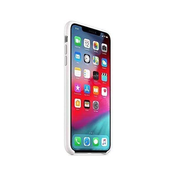 ホワイト iPhone XS Maxシリコーンケース - ホワイト|takahashi-shopping|04