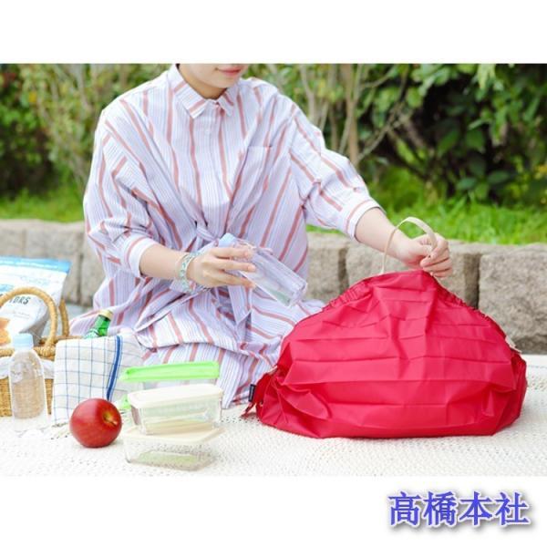 マーナ Shupstto コンパクト バッグMサイズ A411 エコバッグ 折り畳み時6×8cm!|takahashihonsha