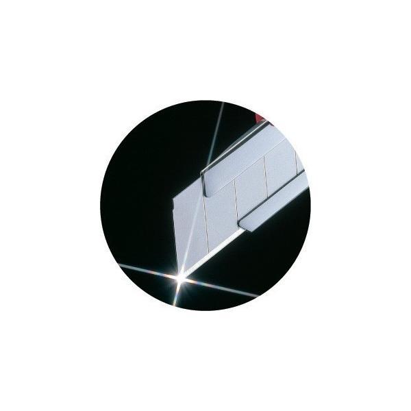 タジマ(Tajima)カッターナイフ替刃 替刃大 凄刃 銀 10枚入り (L型)【CBL-SG10】|takahashihonsha|03