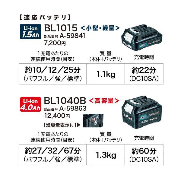 【セット】マキタ CL108FDSHW+ 充電式クリーナー 10.8V 1.5Ah 【サイクロンアタッチメントセット】バッテリー・充電器set【製品保証サービス有り】|takahashihonsha|06