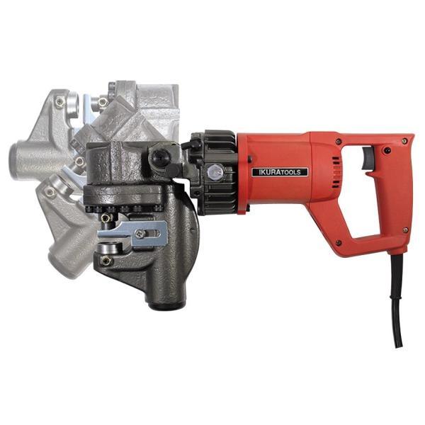 育良精機 バリアフリーパンチャー IS-BP18S  AC100V  電動油圧式パンチャー takahashihonsha