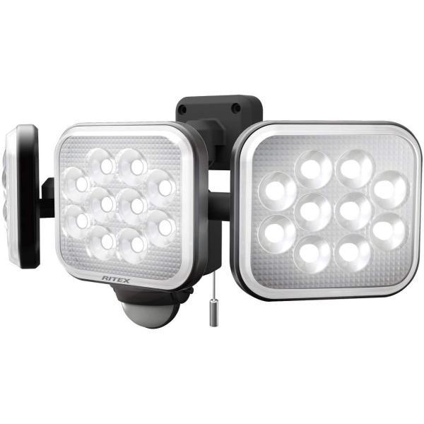 musashi(ムサシ) 14W×3灯 フリーアーム式LEDセンサーライト(LED-AC3042)