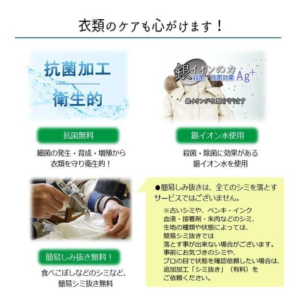 宅配クリーニング 保管付 15点 まで 詰め放題 送料無料 簡易シミ抜き 抗菌無料  タカケン クリーニング|takaken|05