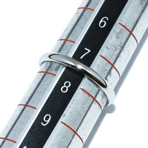 ティファニー 指輪 リング Pt950 ルシダクラシックウェディングリング 幅2ミリ 7.5号