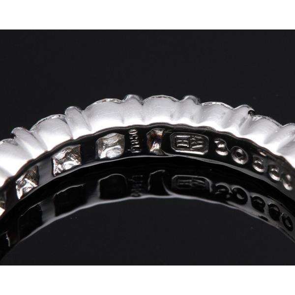 ハリーウィンストン 指輪 リング Pt950 ダイヤ23P 約1.15ct ラウンドプロングセットリング エタニティリング 9号