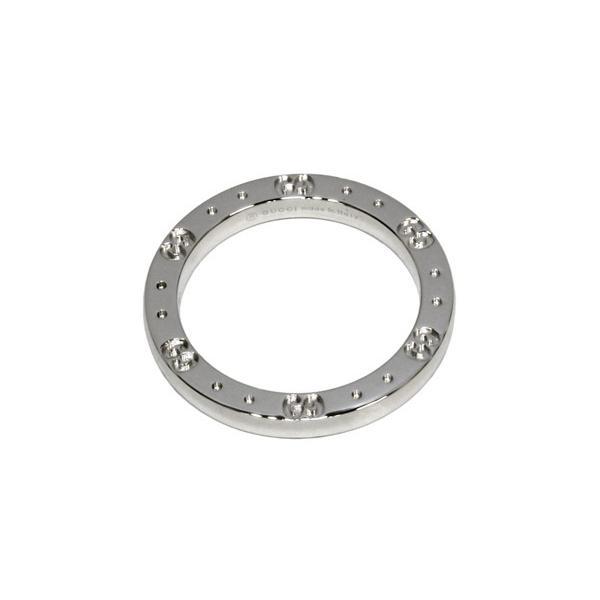 グッチ 指輪 リング K18WG アイコンリング #15 14.5号