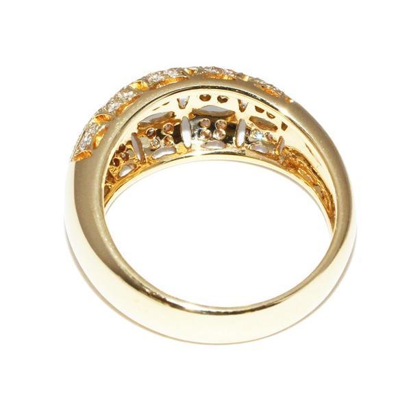 指輪 リング K18YG ダイヤ0.29ct 12.5号