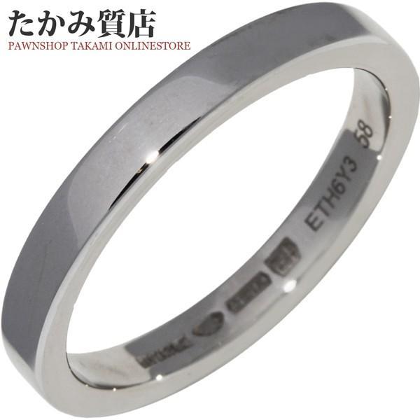 4c48709696d8 ブルガリ 指輪 リング メンズリング Pt950 マリーミーウェディングリング 幅3ミリ AN852594 #58 17.5 ...