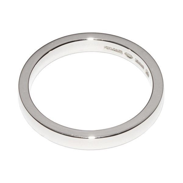 4ae5ceeb8de3 ... ブルガリ 指輪 リング メンズリング Pt950 マリーミーウェディングリング 幅3ミリ AN852594 #58 17.5 ...