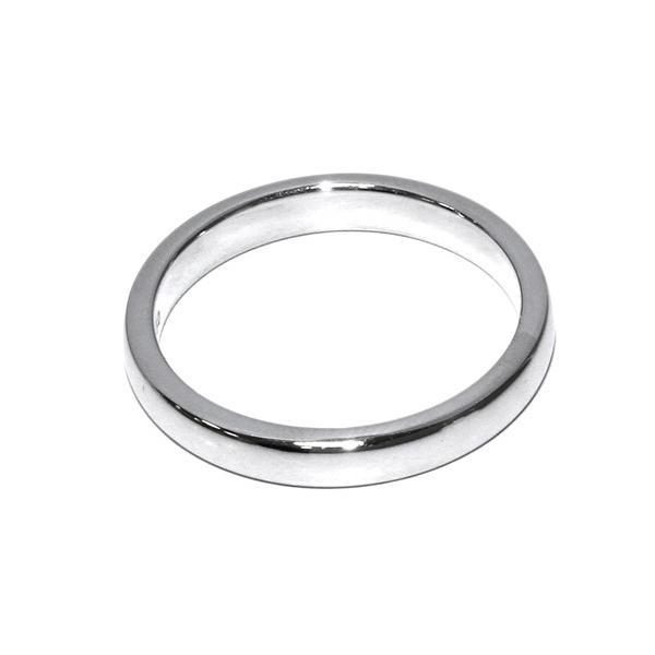 ティファニー 指輪 リング Pt950 ルシダバンドリング 幅3ミリ 11号