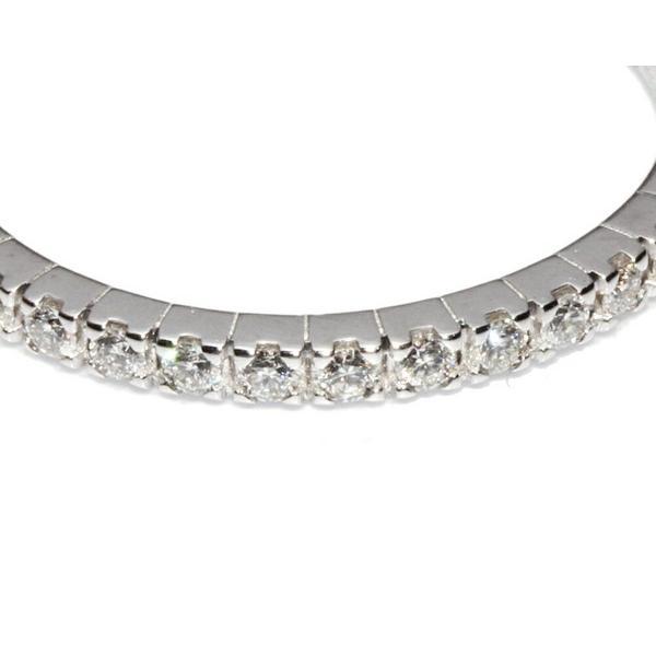 ブルガリ 指輪 リング K18WG ダイヤ20P エタニティ・リング AN857562 #49 9号