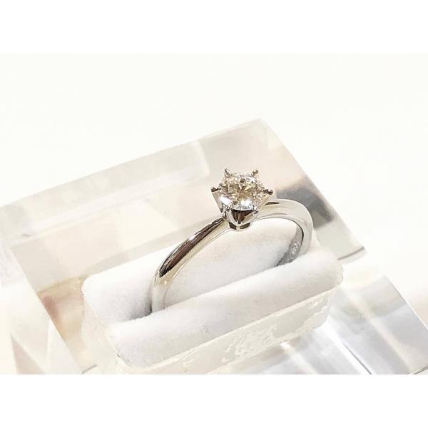 プラチナ ダイヤモンドリング  PAS 8185