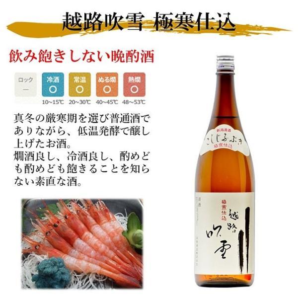 父の日 日本酒 プレゼント お酒 ギフト 飲み比べ 大吟醸 入り 1800ml 一升 5本 セット 辛口 新潟 高野酒造|takano-shuzo-y|05