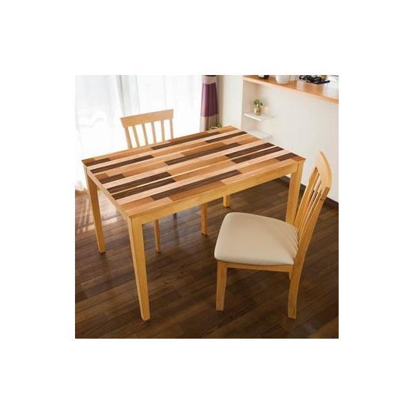 TABLECLOTH DECORATION テーブルデコレーション 貼る!テーブルシート 90cm×150cm 寄せ木 BR・ブラウン