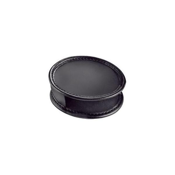 同梱・代引き不可 エッシェンバッハ レンズブラックレザーケース (ブラックルーペ2655-50用) 2855-50