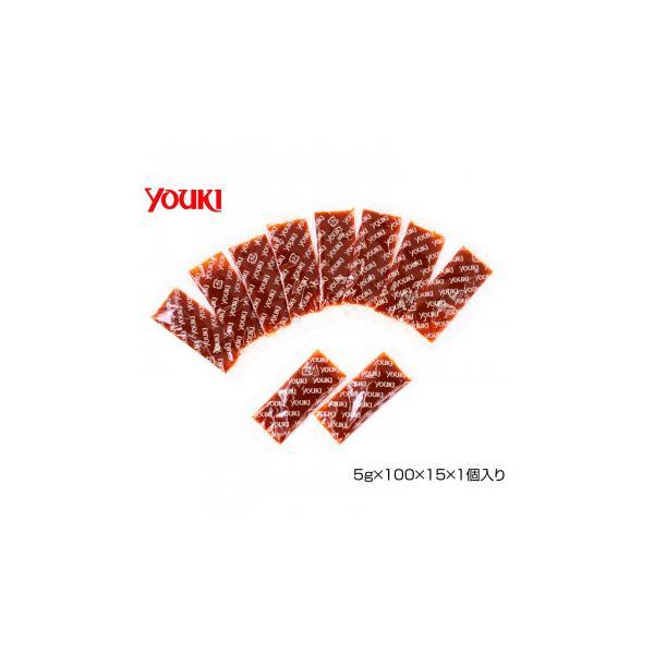 YOUKI ユウキ食品 四川豆板醤(小袋詰) 5g×100×15×1個入り 213110