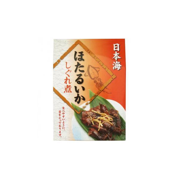 同梱・代引き不可 マルヨ食品 ほたるいかしぐれ煮(目取り) 120g×40個 05175