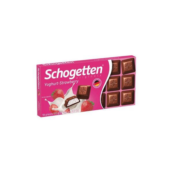 同梱・代引き不可 トランフ チョコレート ヨーグルトストロベリー 100g 15セット 017000