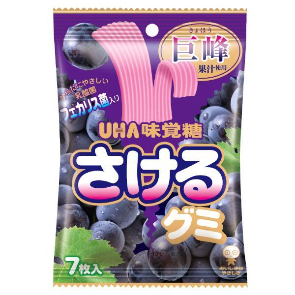 味覚糖 さけるグミ 巨峰 10入