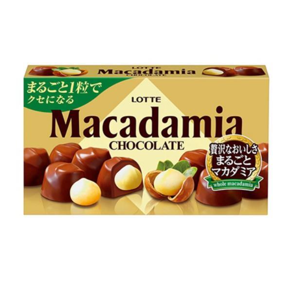 ロッテ マカダミアチョコレート 10入