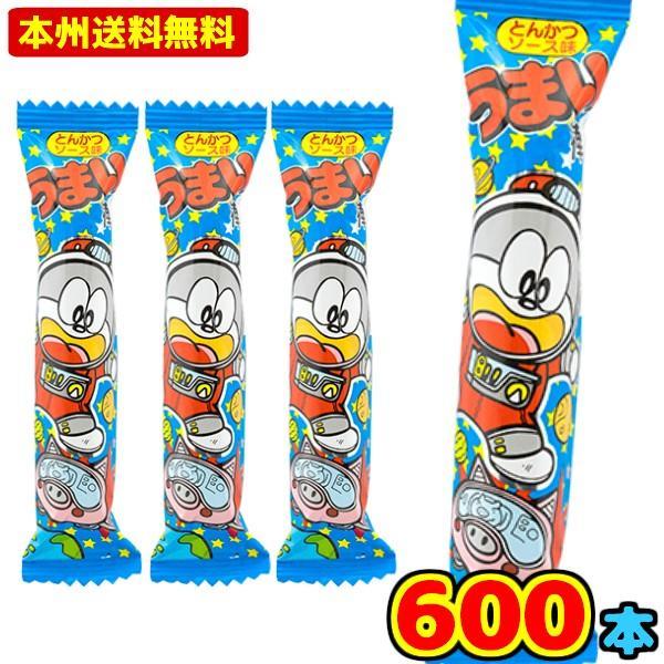 やおきん うまい棒とんかつソース味(30×20)600入 (Y14)(ケース販売) 本州一部送料無料