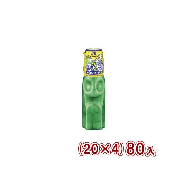 森永 27g ラムネ メロンソーダ&シャリ玉 (20×4) 80入 (Y80) 本州一部送料無料