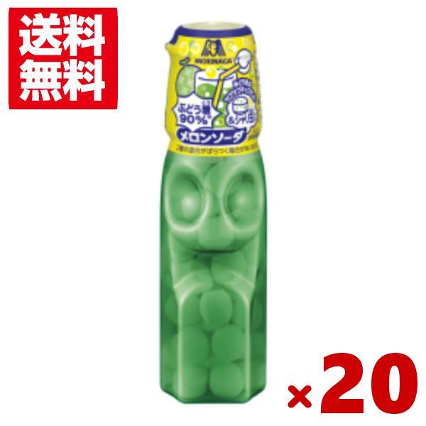 森永 ラムネ メロンソーダ&シャリ玉 20入 (ポイント消化)(CP) メール便全国送料無料