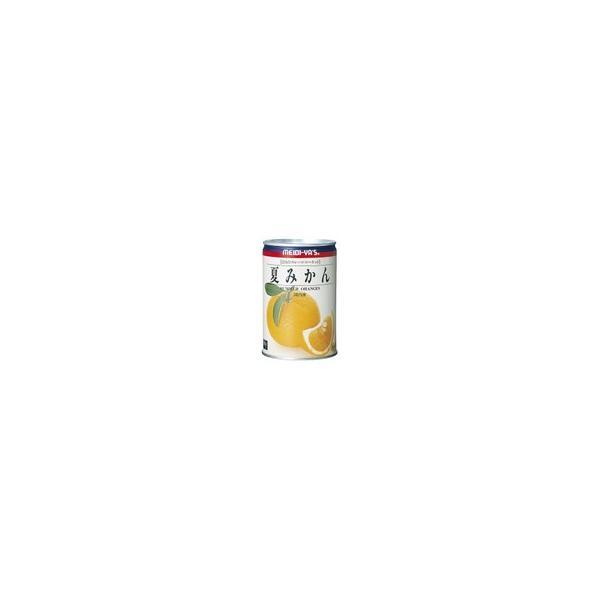 明治屋 フルーツマーケット夏みかん イージーオープン 450g×12缶