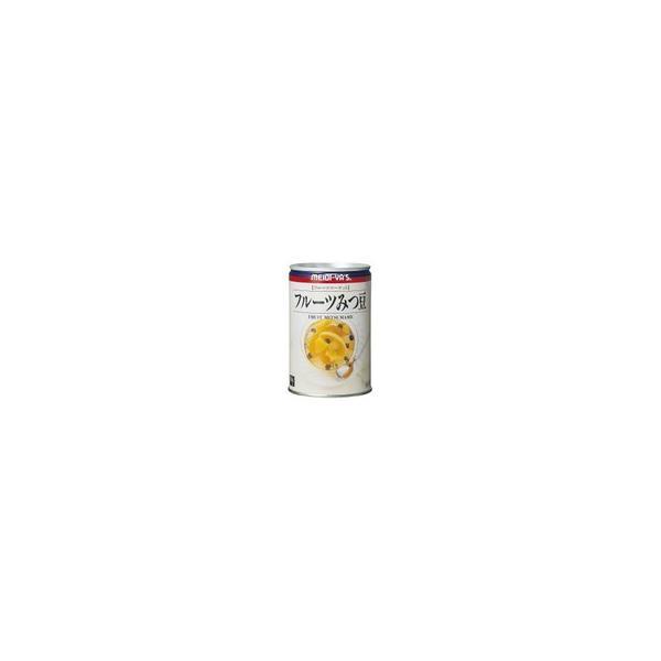 明治屋 フルーツマーケットフルーツみつ豆 イージーオープン 425g×12缶