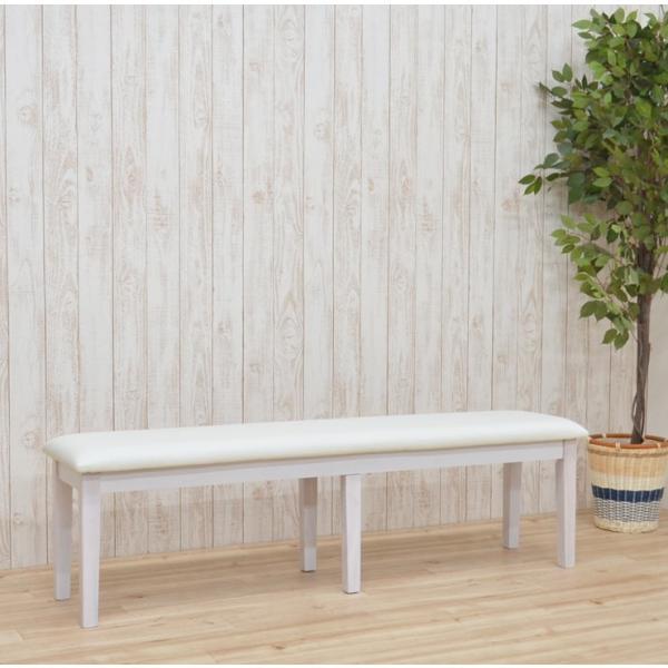 ワケあり アウトレット ダイニングベンチ ベンチチェア 椅子 150cm ac2-150ben-360-wak 371 ダークブラウン クリアナチュラル ホワイト お客様組立品 2s-1k-204|takara21|11