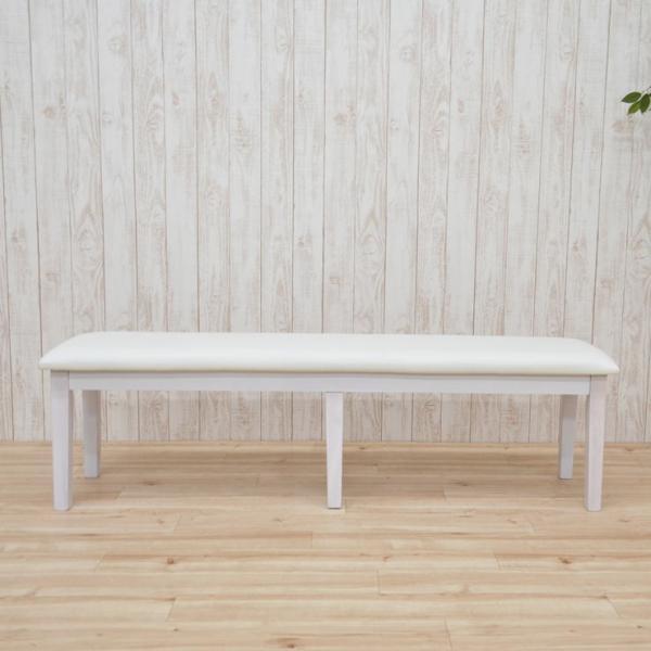ワケあり アウトレット ダイニングベンチ ベンチチェア 椅子 150cm ac2-150ben-360-wak 371 ダークブラウン クリアナチュラル ホワイト お客様組立品 2s-1k-204|takara21|08