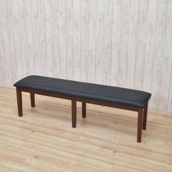 ワケあり アウトレット ダイニングベンチ ベンチチェア 椅子 150cm ac2-150ben-360-wak 371 ダークブラウン クリアナチュラル ホワイト お客様組立品 2s-1k-204|takara21|10
