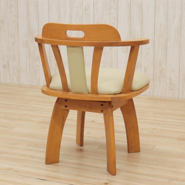 アウトレット 回転イス ダイニングチェア 肘付き椅子  2脚セット 木製 肘付き ワイドタイプ bist2-360 ライトブラウン ミドルブラウン 161|takara21|10