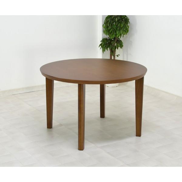 アウトレット 在庫限り 丸テーブル 110 ダイニングテーブル L4D-368-siaz ミドルブラウン色  円形テーブル  木製 おしゃれ so|takara21