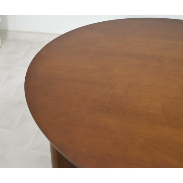 アウトレット 在庫限り 丸テーブル 110 ダイニングテーブル L4D-368-siaz ミドルブラウン色  円形テーブル  木製 おしゃれ so|takara21|02